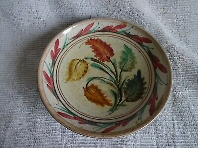 Vintage Denby Glyn Colledge Decorative Hand Painted Pottery Bowl 8.5  Dia • 4.99£