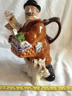 Cardew Ringtons Novelty Collectable Lge Teapot Maurice Delivery Man Gd Condition • 24£