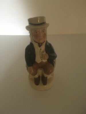 Toby Jug By Tony Wood. 'Jabez'. Height 7.5inches. • 10£