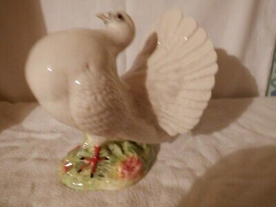 Beswick 1614 Fantail Pigeon,1951 To 1969,5  Tall,good Condition. • 180£