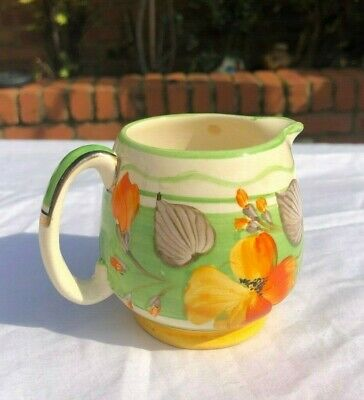 Vintage Floral Grays Pottery Hand Painted Jug • 28£