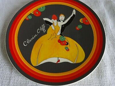 LARGE WEDGWOOD CLARICE CLIFF Charger 12.25  Dia Age Of Jazz • 29.99£
