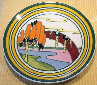 Clarice Cliffe Bizarre Plate Solitude By Wedgood • 25£