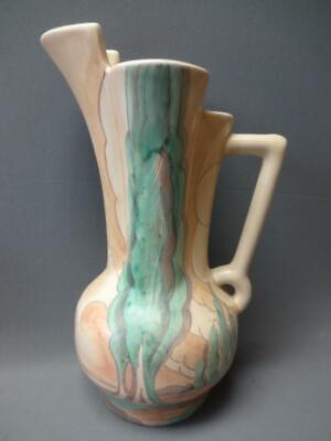 Beswick Ware Art Deco Vase Pitcher Antique 177/1 Made In England Hand Painted • 57.69£