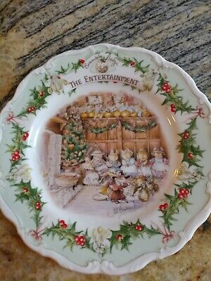 Brambly Hedge 'The Entertainment' Plate By Royal Doulton  • 35£