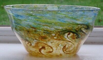 Scottish MONART Glass Bowl • 124.99£