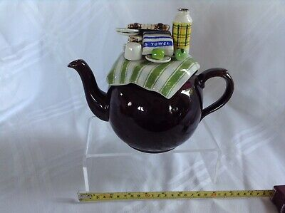 Cardew Collectable Novelty Large Betty Teapot Summer Picnic Perfect Condition • 25£