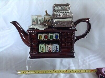 Cardew Collectable Novelty Large Teapot Chinese Tea Counter Good Condition • 38£