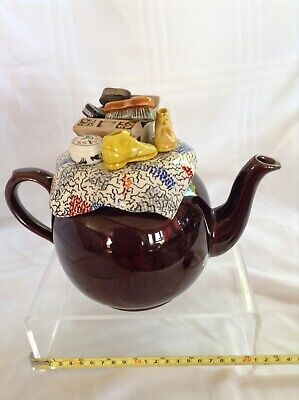Cardew Collectable Novelty Large Betty Teapot Shoe Shine Perfect Condition • 30£