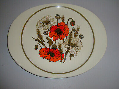 J&G J & G Meakin - Poppy - Cake Plate (several Available) • 4.95£
