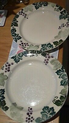 Royal Winton Toscana  Pair Of Dinner Plates • 20£