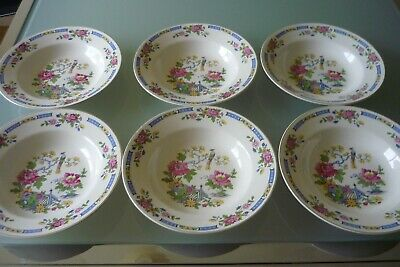 Lord Nelson Ware T'SING Pottery Soup Plates - 6  • 15£