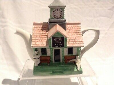 Teapottery Swineside Novelty Collectable Teapot Cricket Great Fathers Day Gift • 28£
