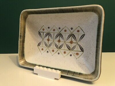 Stunning 60's Langley Denby Sycamore Modernist Stoneware Bowl Tray Glyn Colledge • 22.50£