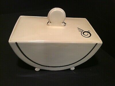 Clarice Cliff, A Fabulous 'biarritz' Shape Tureen ...superb Condition • 45£
