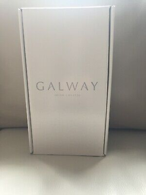 Galway Crystal Liberty Champagne Flutes - Set Of 2 New In Box • 19.95£