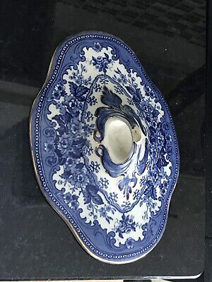 VINTAGE LOSOL WARE COLWYN VEGETABLE DISH With COVER - C 1900 • 29.50£