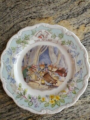 Brambly Hedge Plate - Safe At Last • 54.99£