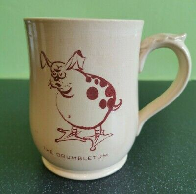 Wade England Harvest Ware Cranky Tankard Number 3 The Drumbletum (D3) • 9.99£