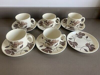 J & G Meakin- Flower Song Cup And Saucer Set • 6.50£