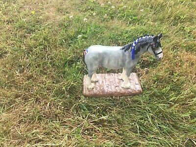 ROYAL DOULTON HORSE PONY CLYDESDALE No. RDA 55 PERFECT • 50£