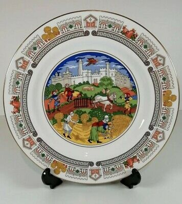 Spode - The Medieval World Large Plate No 2. The Countryside  • 15.99£