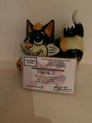 Lorna Bailey Batty The Cat Limited Edition 8 / 50  With Certificate • 67.50£