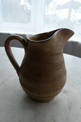 Lovely French Antique / Vintage Glazed Rustic Pitcher Jug - Hand Decorated  • 25£