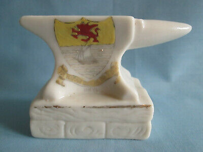 Royal Crown Pottery Crested Ware China Anvil  Rhyl  • 0.99£