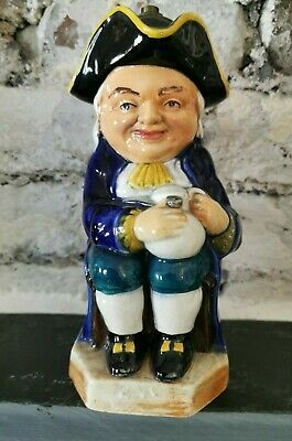 Toby Jug Modified For A Lamp 10  H (D1) • 4.99£