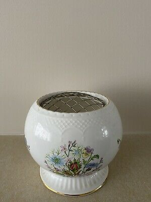 Aynsley Wild Tudor Large Rose/Posy Bowl. • 4.60£