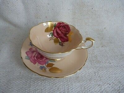 Superb Quality Vintage Paragon Fine Bone China Cabinet Cup And Saucer. Signed. • 21£