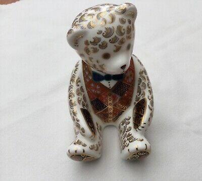 Royal Crown Derby Teddy Bear Paperweight • 21£