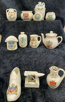 Job Lot Of Assorted Crested China (D3) • 9.99£