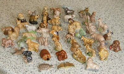 50 Wade Whimsies - Animals, Butterfly, Tortoise, Fish Etc. • 16£