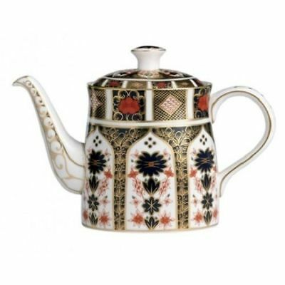 New Royal Crown Derby 2nd Quality Old Imari 1128 Large Teapot • 370£