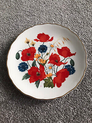 Royal Albert Cornfield Poppies Collectible Plate By Jo Hague • 2.70£
