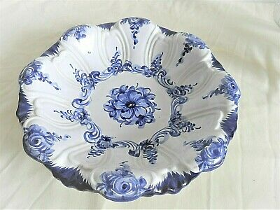 European   Blue  And  White   Pattern   Bowl   ( Clearance  Stock  ) • 0.99£