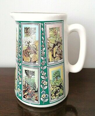 VINTAGE RINGTONS PICTURE CARD JUG By EASTGATE POTTERIES - MADE In ENGLAND • 6.99£