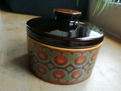 Hornsea Bronte Pottery Dish/Pot With Lid • 2.50£