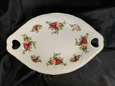 Royal Albert Old Country Roses Oval Dish. • 4.99£