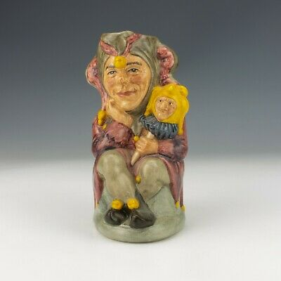 Royal Doulton China - The Jester Character Toby Jug - Limited Edition! • 24.99£