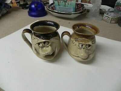 2 Vintage Ugly Mugs Made In Wales Pretty Ugly Pottery • 1.99£