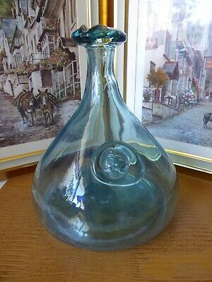 Vintage Large Holmegaard Pressed Glass Viking Decanter By Ole Winther 1962 • 30£