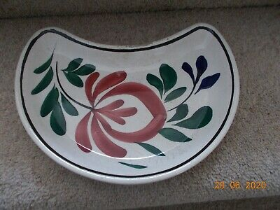 Llanelly,South Wales Pottery Persian Rose Bone Dish • 35£