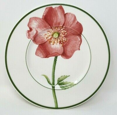 Villeroy And & Boch Flora 7 Inch Side Or Tea Plate Eglantine Excellent Condition • 19.99£