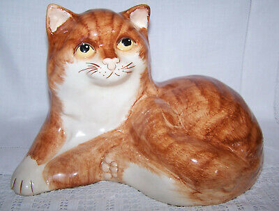 Babbacombe Pottery Ginger Cat  • 24.99£