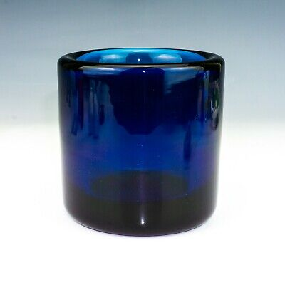 Orrefors Glass - Sven Palmquist Expo Pm 245-62 Special Edition Blue Glass Vase • 2.42£