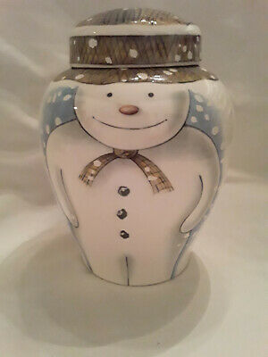 Royal Doulton  The Snowman  Large Ginger Jar, Boxed  • 300£