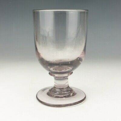 Antique Georgian Glass - Large Hand Blown Rummer Drinking Glass - Lovely! • 11.50£